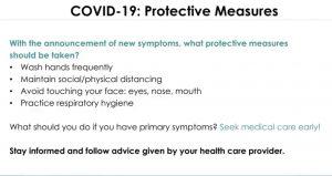COVID-19 PROTECTIVE MEASURES. DALLAS DENTAL SMILES.DALLAS, GA